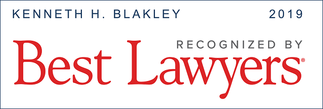 Kenneth Blakley Best Lawyers Badge